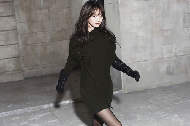 Shin Min Ah Reveals Style Innerve S 2011 Winter Collection