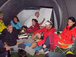 Odmor u šatoru