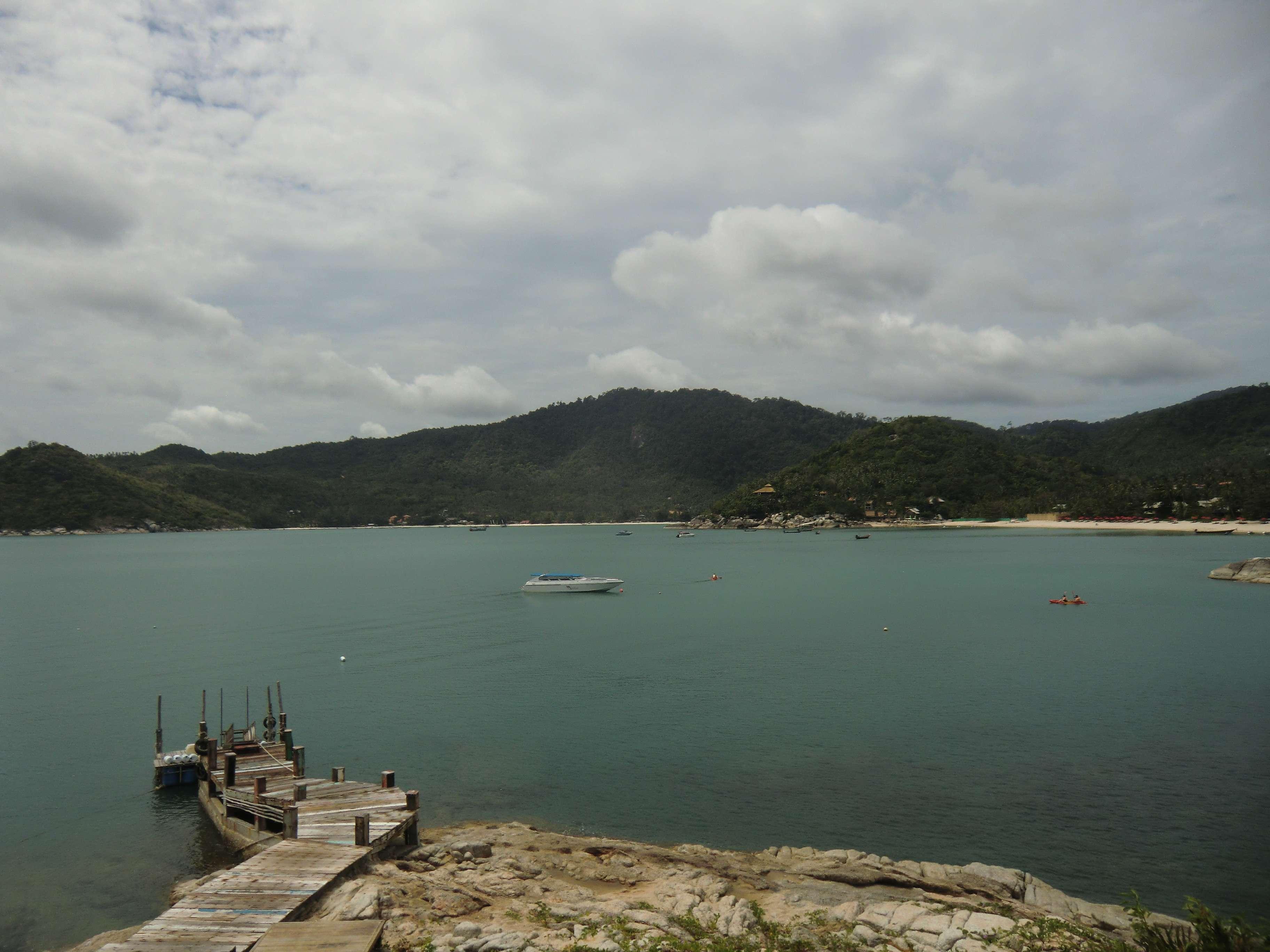 da hinten ist der Strand von Thong Nai Pan Yai
