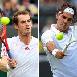 Wimbledon 2012 Mens Final Andy Murray vs Roger Federer