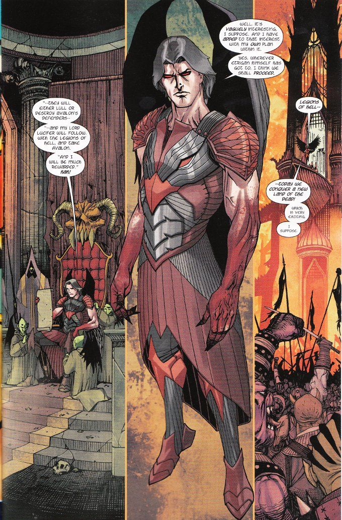 My Geeky Geeky Ways: Demon Knights #14 - A Review
