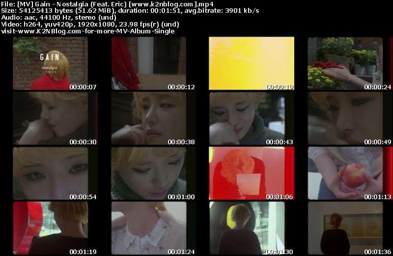 [MV] Gain - Nostalgia (Feat. Eric) [HD 1080p Youtube]