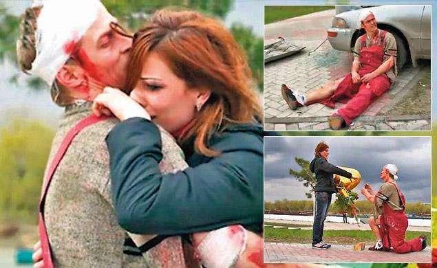 Russes la mariée cadavre