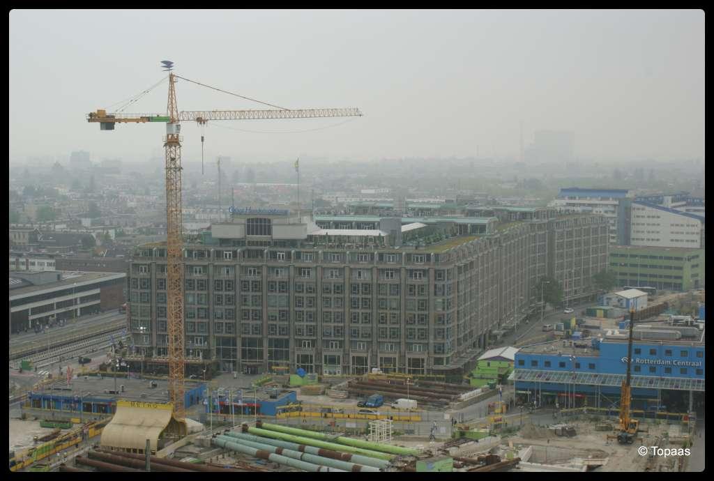 Rotterdam groot handelsgebouw skyscrapercity for Hal ingang